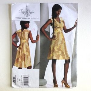 3/$15 Dress Sewing Pattern- Vogue Tracy Reese V1086